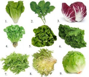 types-of-greens