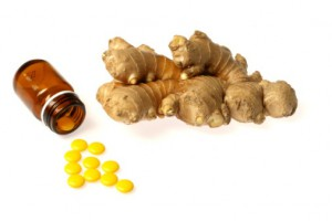 Ginger-supplement-pills